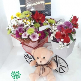 FLORES URSO CHOCOLATE